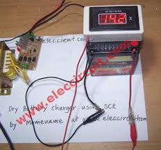 automatic battery charger circuit fully 12v battery
