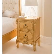 gold bedside table. Interesting Table Baroque Gold Leaf Antique French Style Bedside On Table A