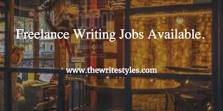 lance writing jobs write for a living the write styles