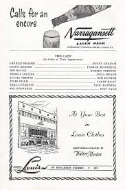 """Robert Preston (Cast Signed)""""THE TENDER TRAP"""" Ronny Graham/Julia Meade/Jack  Manning 1954 Boston Tryout Playbill at Amazon's Entertainment Collectibles  Store"""