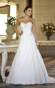 getting the elegant wedding dresses