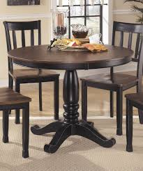 ashley furniture owingsville round dining room table