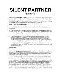 Template For Business Partnership Agreement Refrence Sample ...