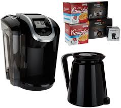 Coffee Maker Carafe And Single Cup Keurig 20 K350 Coffee Maker W My K Cup 10 K Cup Pods 4 Soup