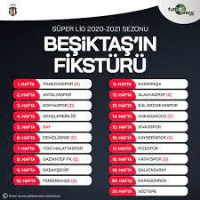"""FutbolArena on Twitter: """"Beşiktaş'ın 2020-21 sezonu fikstürü ⚽… """""""