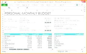Excel Monthly Budget Spreadsheet Monthly Budget Excel Sheet Household Monthly Budget Spreadsheet