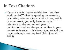 Apa Citation Examples Ppt Download