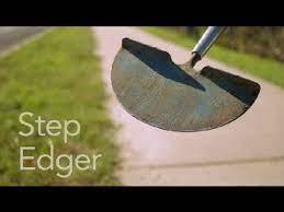 step edger garden tool guides you
