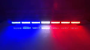 Why Are Police Lights Red And Blue Lb1203 7 Red White And Blue Led Dash Light Led Police