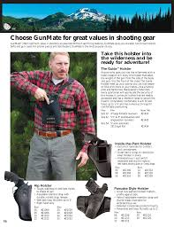 Gunmate Holster Chart Choose Gunmate For Great Values In Shooting Gear Manualzz Com