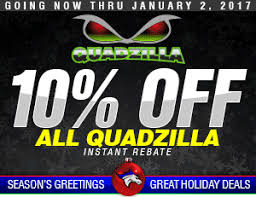 thoroughbred diesel black friday and cyber monday deals get 10% off on quadzilla products