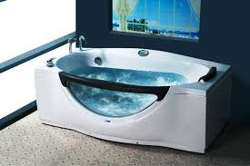 image of portable bathtub spa modern elegant