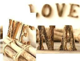 decorative block letters retro birch wooden letter rustic rural home decor original wood decoration crafts toys