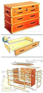 chest of drawers plans woodsmith steamer trunk architectures cool dresser furniture and projects