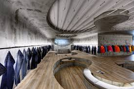 Interior Design Office Space Magnificent Loving This Interior Space Zemberek Shapes Istanbul Denim R D