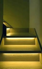 Interior stairway lighting Hallway Stairway Lights Led Stair Lighting Ideas For Modern And Contemporary Interiors Round Light Indoor Halo3screenshotscom Stairway Lights Led Stair Lighting Ideas For Modern And Contemporary