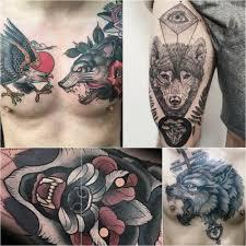 тату волк значение и эскизы татуировки с волком Tattoo Ideasru