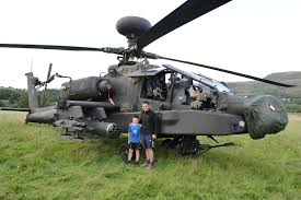 Pictures Show Apache Helicopter After It Was Forced To Make An