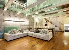 modern furniture living room wood. Modern Living Room With Wood Floors And Glass Ceiling Modern Furniture