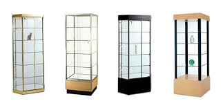 glass tower pedestal showcases jewelry showcases value line tower showcases perfect for