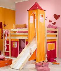 Bunk bed with stairs and slide White Image Of Princess Castle Bunk Bed With Slide Raindance Bed Designs Building Bunk Bed With Slide Raindance Bed Designs