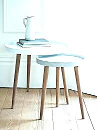 side tables small round white side table coffee full size of living room post modern