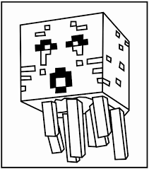 minecraft creeper coloring pages best of printable minecraft ghast coloring pages