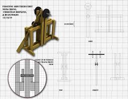 Trebuchet Catapult Design Plans Nicholas Cheng Projects