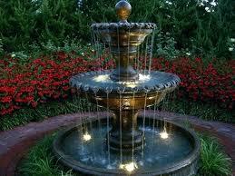 wall outdoor fountain crane fountain