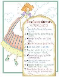 10 Commandments Chart Kooler Design Studio