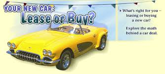 buy lease cars math in daily life your new car lease or buy