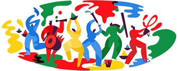Spring Festival Colorful Google Doodle For Holi Hindu Spring Festival