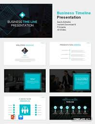 Free Templates Free Business Timeline Presentation Template Powerpoint