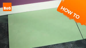 B And Q Kitchen Flooring How To Lay Flooring Part 2 Underlay Youtube
