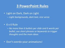 6 X 6 Rule In Powerpoint Presentation Design Ppt Slide Thumbnail Powerpoint Presentation Free Download