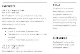 Google Resume Templates Free Mesmerizing Free Template For A Resume Google Docs Functional Resume Template