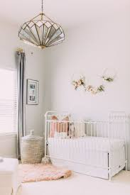 Light Pink Baby Girl Nursery Sophisticated Blush And White Baby Girl Nursery Girl
