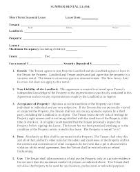 Lease Rent Agreement Format Beauteous Sample Tenancy Agreement Letter Basic Lease Template Business House