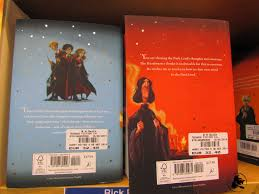 back covers for goblet of fire and order of the phoenix