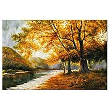 wall art paintings for living roomAmazoncom Canvas Print Wall Art Painting For Home Dcor Brooklyn