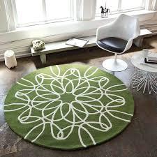 large circular rugs large round ribbon rug in green and white large circular rugs