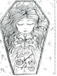 Gothic Fairy Coloring Pages Coloring Pages Goth Coloring Pages Goth