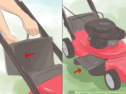 gas lawn mower. image titled prepare a gas powered lawnmower step 1 lawn mower