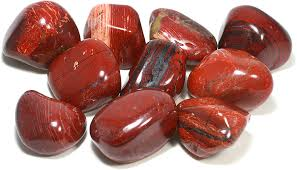 CrystalAge Red Jasper Tumble Stone (20-25mm) - Single Stone: CrystalAge:  Amazon.co.uk: Kitchen & Home
