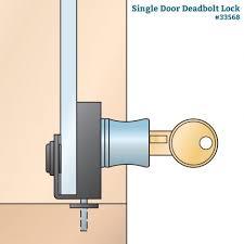glass door locks rockler woodworking