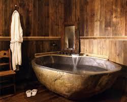 fair design ideas using round brown bathtubs