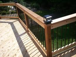 lighting for decks. black deck lighting for cedar st louis west county decks