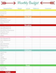 simple printable budget worksheet printable budget worksheet monthly template planner simple visualize