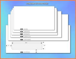 Size Of 10 Envelope 6 Number 10 Envelope Size Leave Latter