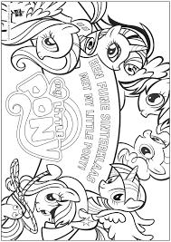 Kleurplaat Kleurboek Sinterklaas My Little Pony Kleurplatennl